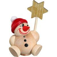 Kugelräucherfigur Cool Man Vario mit roter Mütze