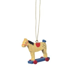 KWO tree decoration equestrian red