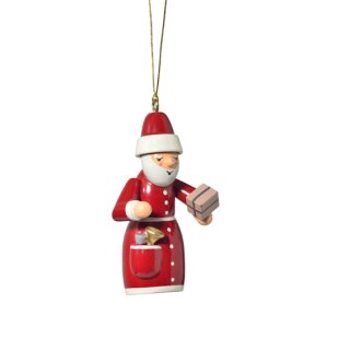 KWO tree decoration Santa Claus with present