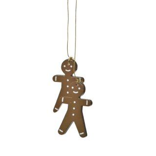 KWO tree decoration gingerbread boy