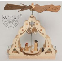 Kuhnert tealight pyramid with manger