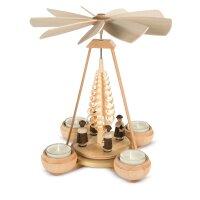 Müller Teelichtpyramide klein mit Kurrende