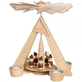 Schalling tealight pyramid carolers
