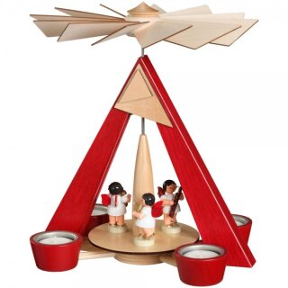 Schalling tealight pyramid with angels