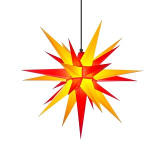 Herrnut christmas star A7 yellow/red with lighting