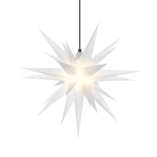 Herrnhut christmas star A7 opal with lighting