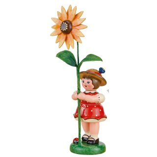 Hubrig flower kid with coneflower