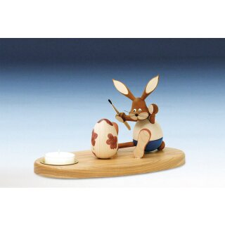 Knuth Neuber tealight holder rabbit sitting colored