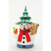 Ulbricht smoker snowman with tree
