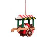 Christian Ulbricht tree decoration market cart with...