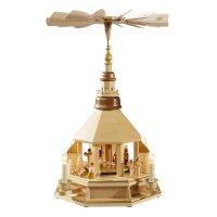 Richard Glässer Pyramide Christi Geburt elektrisch...
