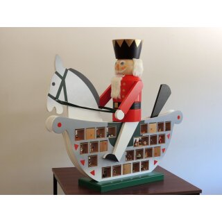 Richard Glässer advent calendar rocking horse