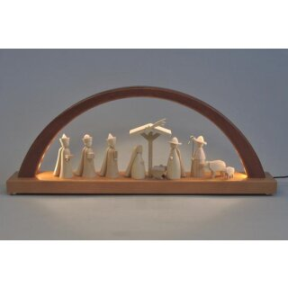 Richard Glässer LED candle arch nativtiy