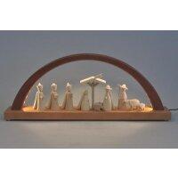 Richard Glässer LED Schwibbogen Christi Geburt