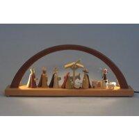 Richard Glässer LED candle arch nativity