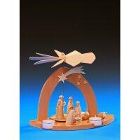 Emil Schalling pyramid Nativity with Three Wise Men