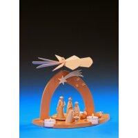 Emil Schalling Pyramide Christi Geburt mit den 3 Weisen