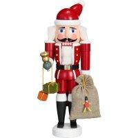 Seiffener Volkskunst Nussknacker Weihnachtsmann