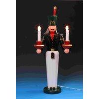 Emil Schalling miner candle holder big