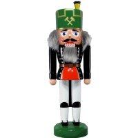 Legler Nussknacker Bergmann mit grünem Hut
