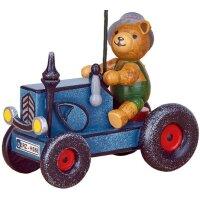 Hubrig Baumbehang Traktor mit Teddy