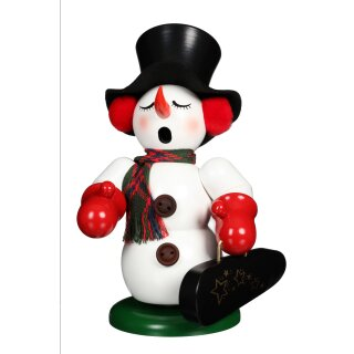 Christian Ulbricht smoker snowman with bell