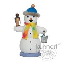 Kuhnert Räuchermann Schneemann mit Pinguin
