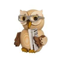 Kuhnert Mini Eule mit Brille