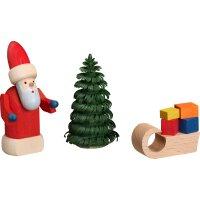 Bestückung Weihnachtsmann mit Schlitten der...