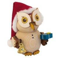 Kuhnert Mini Eule Weihnachtsmann