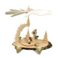 Greifensteinpyramide Vogelhaus mit Figur