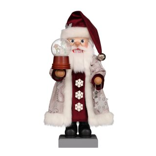 Christian Ulbricht nutcracker Santa with snow Globe