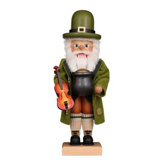Christian Ulbricht nutcracker Irish Santa