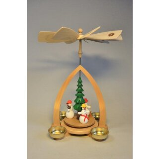 Richard Glässer table pyramid gifts giving green