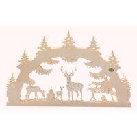 Saico 3D Lichterbogen Waldlichtung mit LED Beleuchtung