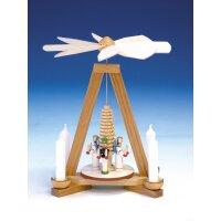 Knuth Neuber Tischpyramide Engel und Bergmann