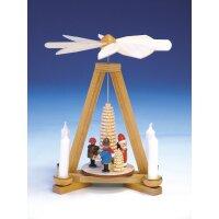 Knuth Neuber Tischpyramide Weihnachtsmann und Striezelkinder