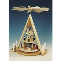 Knuth Neuber Tischpyramide Erzgebirgs Weihnacht