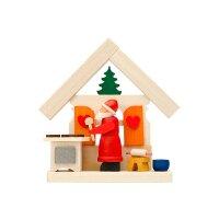 Graupner Baumbehang Haus Weihnachtsmann mit...