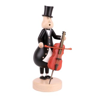 KUK Räuchermann Der Cellist Johann