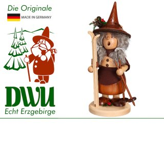 DWU Smoke woman with mushroom basket