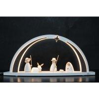 Tietze LED Lichterbogen groß White Line Christi Geburt