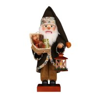 Christian Ulbricht Weihnachtsmann grün mit Korb
