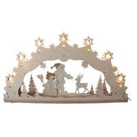 Decor und Design Schwibbogen Weihnachtsmann mit...