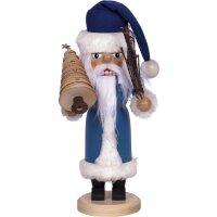 Saico Nussknacker Weihnachtsmann blau