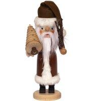 Saico Nussknacker Weihnachtsmann braun