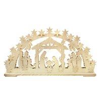 RATAGS Schwibbogen Christi Geburt groß