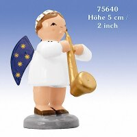 KWO angel with saxophone