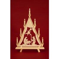 Baumann candle arch triangle Maria with star