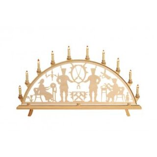 Baumann candle arch motif Ore Mountains